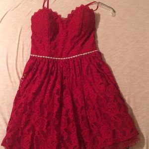 I am selling a homecoming dress.Wore only 1 time.